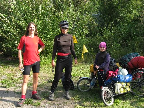 Scottish Cycling Family