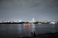 Odaiba Tokyo bay (akiko@flickr) Tags: night tokyo bay odaiba  rainbowbridge