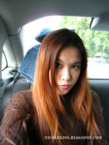camwhore in car