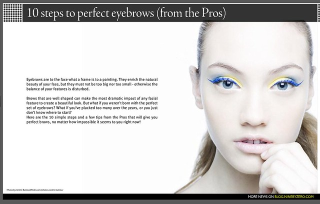 New York Magazine -- Top Five Brow-Shaping Salons - Nymag