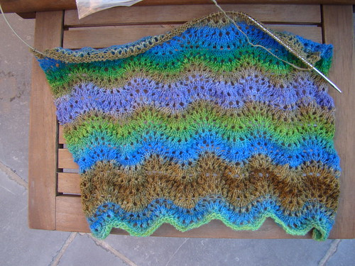 Tara ripple scarf
