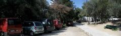 Αυτοκίνητα στα λιθόστρωτα και δωρεάν πάρκινκγ στου Φιλοπάππου