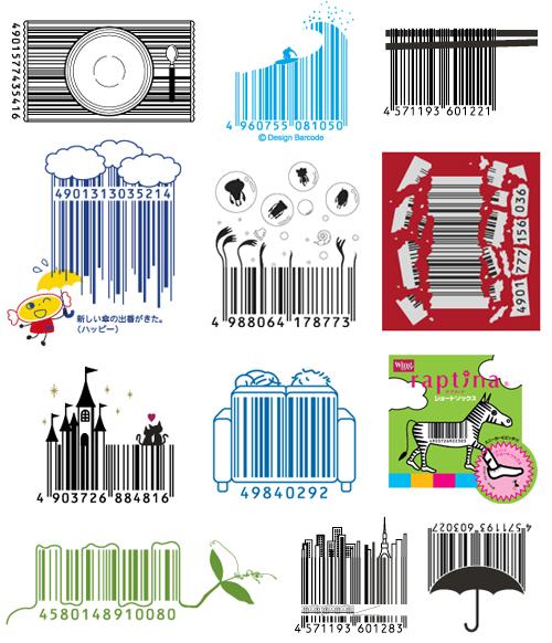 diseños de códigos de barras