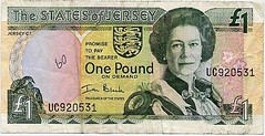 Jersey One Pound Note