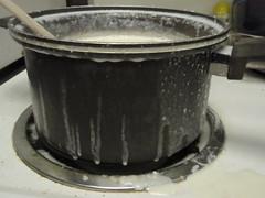 boil over