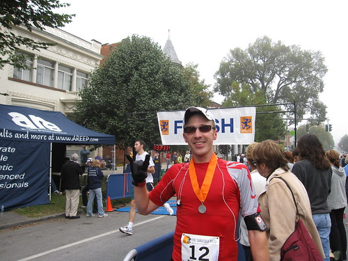Saratoga Palio Half-Marathon by you.