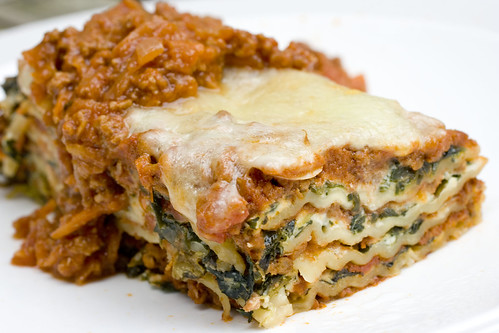 beef and spinach lasagna 3