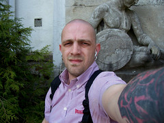 skin1909 (SkinHH) Tags: tattoo skin boots shaved smoking skinhead lonsdale glatze