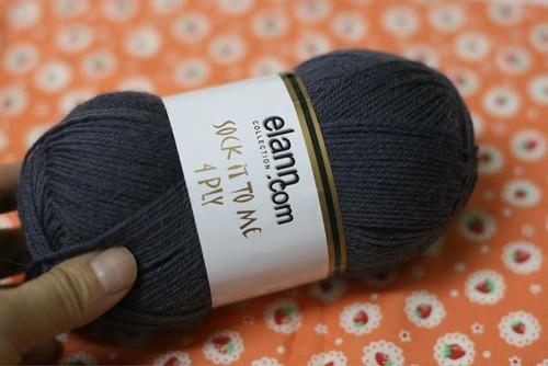 Segunda meia de tricô