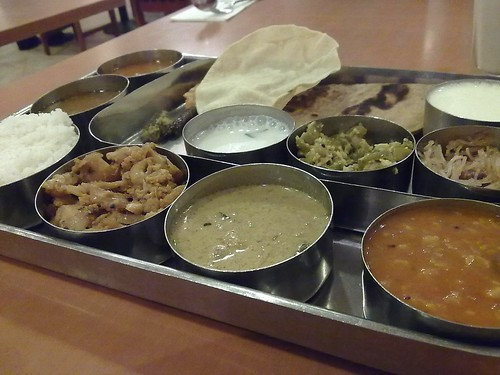 South Indian Thali with Curd