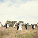 Celebratory Bridal Party Shot