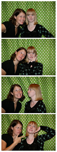 Fauxtobooth: Hilary & Meg