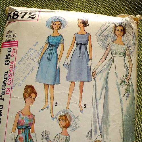 vintage Simplicity 5872