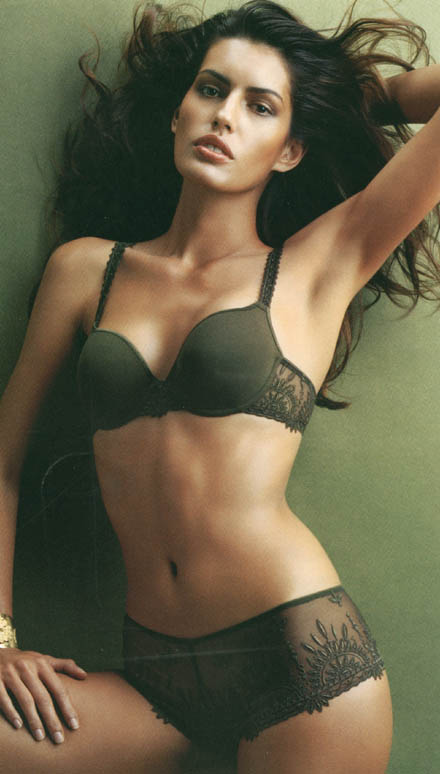 Chantelle feminine lingerie and underwear fashion - beautiful girls