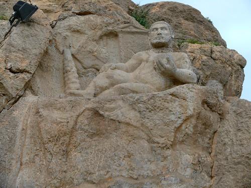 Herakles-Verethragna at Behistun