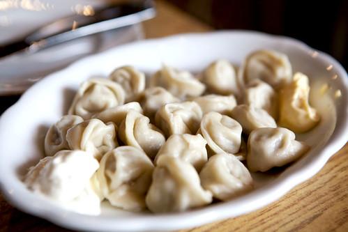 Siberian meats dumplings