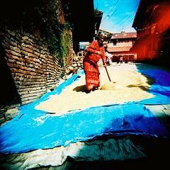 0000111 (kaynlomo) Tags: nepal 120 film holga lomo kodak e100vs kayn