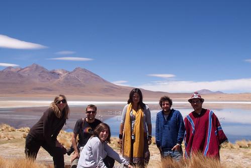 Bolivia: Lagunas, Volcanes, Flamingos....