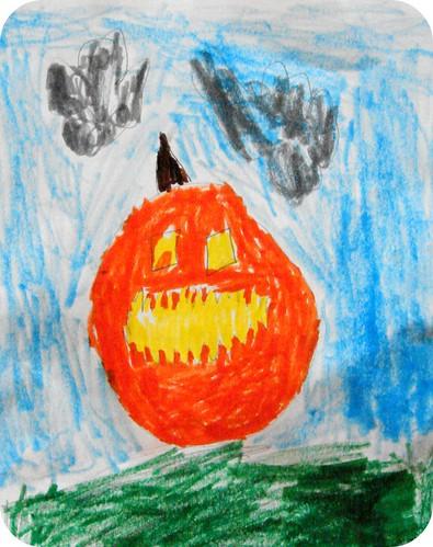 Zoey's Jack-o-Lantern