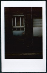 exit.  instaxed. (sami k (the k stands for potassium!)) Tags: door england film manchester pub fuji instant analogue exit instax