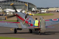 G-BSKP - RN201 - 6S 663417 - Private - Supermarine 379 Spitfire F14E - Duxford - 060903 - Steven Gray - CRW_6363