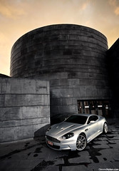 DBSunset. (Denniske) Tags: november sunset canon silver photography eos gris shoot angle belgium belgique wide belgi sigma automotive 11 09 shooting mm dennis 1020 7th 2009 60 antwerpen 07 aston v12 silber noten argento zilver f456 bonheiden 40d denniske dennisnotencom astonmartindbsphotoshootbydennisnotencom