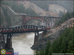 Canadian Pacific Railway (BCOL CCCP) Tags: world railroad bridge canada history train river pacific bridges taken railway trains pic columbia canadian well cisco british fraser ge railways cccp frieght bridgepix ac4400 bcol bridgepic