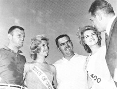 NASCAR's Junior Johnson with Queen of Speed-Linda Vaughn (torinodave72) Tags: girl june golden nikki phillips f1 linda nascar firebird marsha miss vaughn pure bennett cochran shifter hurst nhra usac ahra