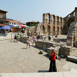 Nessebar: Basilica of St. Sophia (The Old Bishopric) - second half of the 5th century
