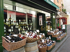 Wine sale, Paris