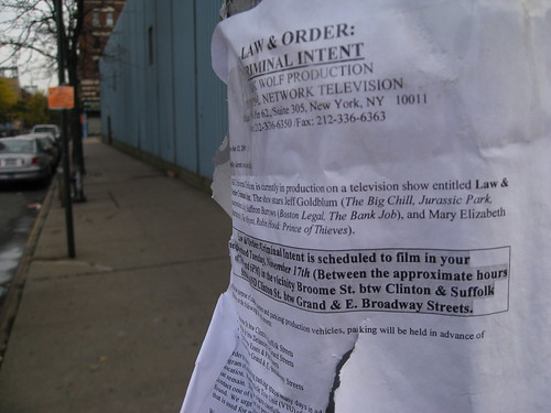 Law & Order on Broome