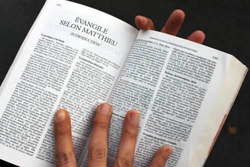 La Bible est le seul véritable texte de référence pour les pentecôtistes.