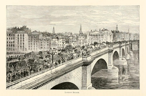025-Puente de Londres- London pictures drawn with pen and pencil 1890-Richard Lovett