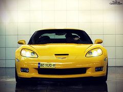 Corvette Z06 (ThomasGroenhuijsen) Tags: auto cars car yellow lumix thomas muscle automotive panasonic carwash american z autos 06 corvette c6 z06 carspotting dmcfz18 autogespot groenhuijsen