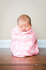 My 9lb sack... - {Explored} ({{Jessica}}) Tags: sleeping composite swaddle sackofpotatoes newbornjustborntinybabynewbie10days