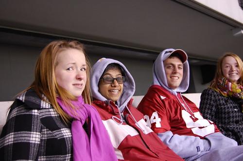 Jordan, Sudha, Zach, and Shelby