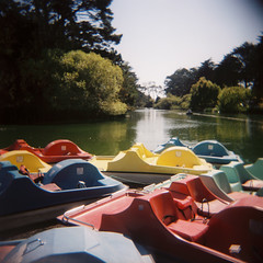 Stow Lake Pedal Boats