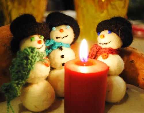 hobo snowmen