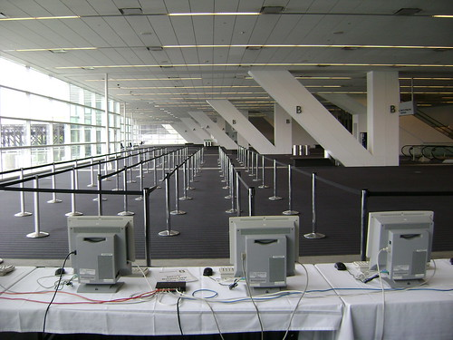 The onsite registration terminals