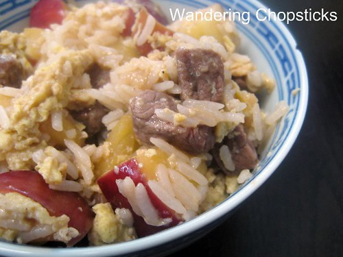 Fried Rice with Apples and Beef 1