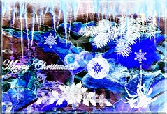 CHRISTMAS ICICLES (24 days of Christmas) Day 2 (fantartsy JJ *2013 year of LOVE!*) Tags: christmas flowers light red roses holiday texture kids fun happy peace joy newyear christian ornament grandchild waving deckthehalls bej anawesomeshot flickrdiamond citrit thesuperbmasterpiece totalphotoshop graphicmaster christmasglowstick newgoldenseal