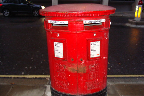 Mailbox, London, England, Red, Project We, Travel