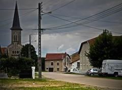 lumiere (domiloui) Tags: house nature nikon flickr village ciel lumiere nuage eglise couleur orage ambiance nuances nomeny abaucourt
