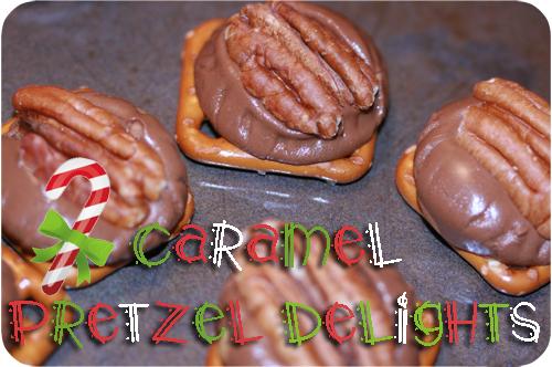 Caramel Pretzel Delights - Pure yumminess!