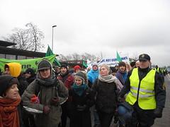「奪回權力」行動,示威者往貝拉中心前進。陳思穎攝