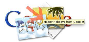 Google Holiday Message Logo