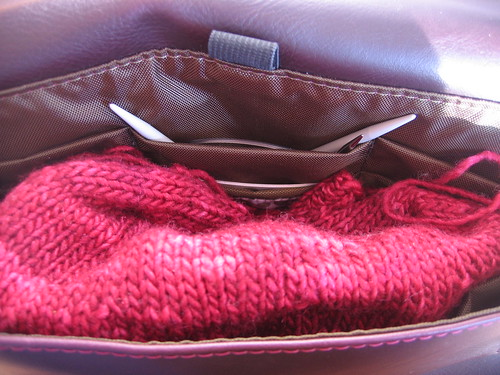 Knitting Clutch - *my* best present