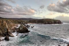 Lobadiz (Hugo Nidguila) Tags: naturaleza clouds landscape mar paisaje cielo nubes 2470l rocas ferrol donios acantilados ferrolterra lobadiz hugonidaguila