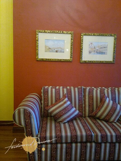 Interiors at Hotel Elizabeth