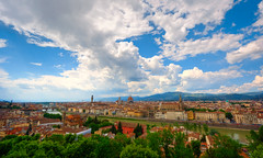 Florence (Ali Al-Talib) Tags: sky italy color florence raw angle wide tuscany cannon land scape hdr 2010 10mm